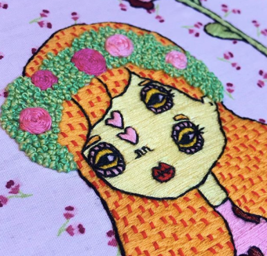 Camille - Embroidery