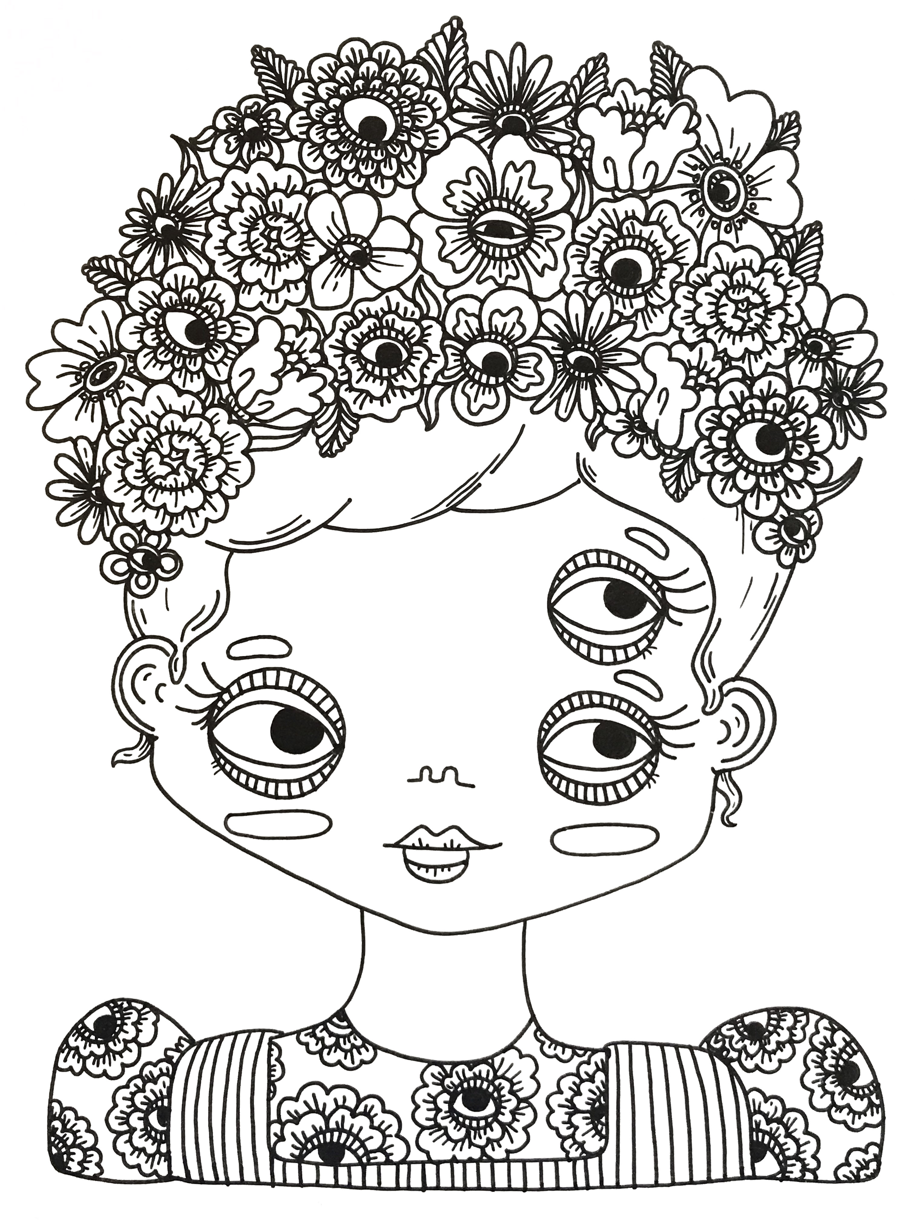 Coloriage Flowers